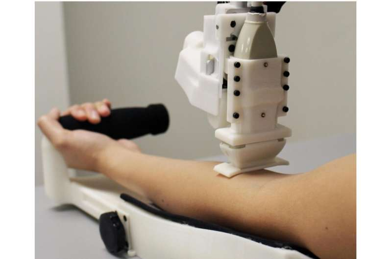 New robot does superior job sampling blood