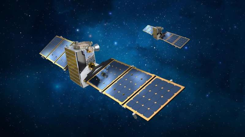 New small satellite to rendezvous with binary asteroids