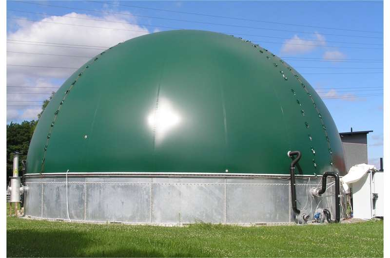 New solutions for fabric biogas storage systems