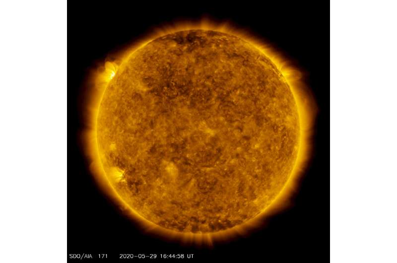 New sunspots potentially herald increased solar activity