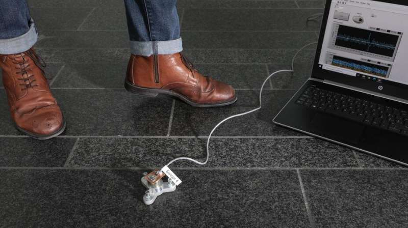 New system uses floor vibrations to detect building occupants
