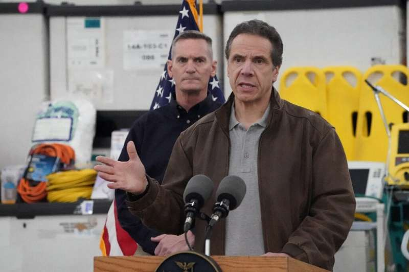New York Governor Andrew Cuomo urged Washington to use the Federal Defense Production Act, which would see the national governme
