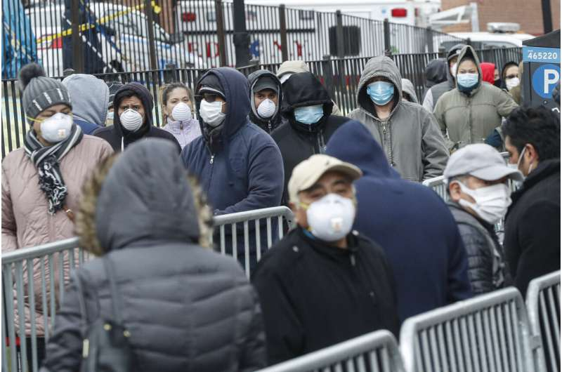 New York mobilizes against onslaught from the virus