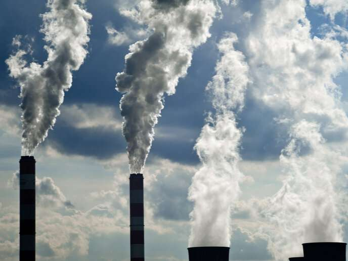 No glimmer of hope? Despite slower emissions growth, CO2 levels remain high