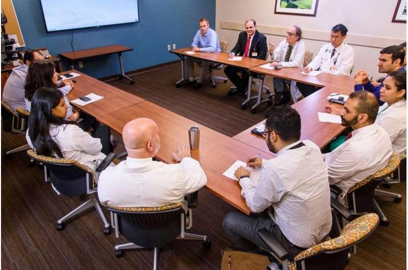 Novel digital dashboard improves cancer case review efficiency