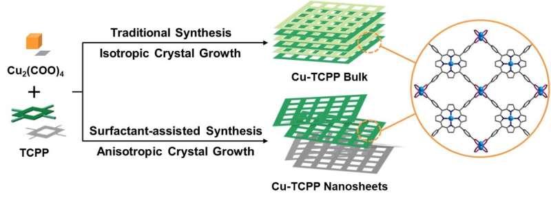 Novel metal-organic framework nanosheets developed for anticorrosive coating