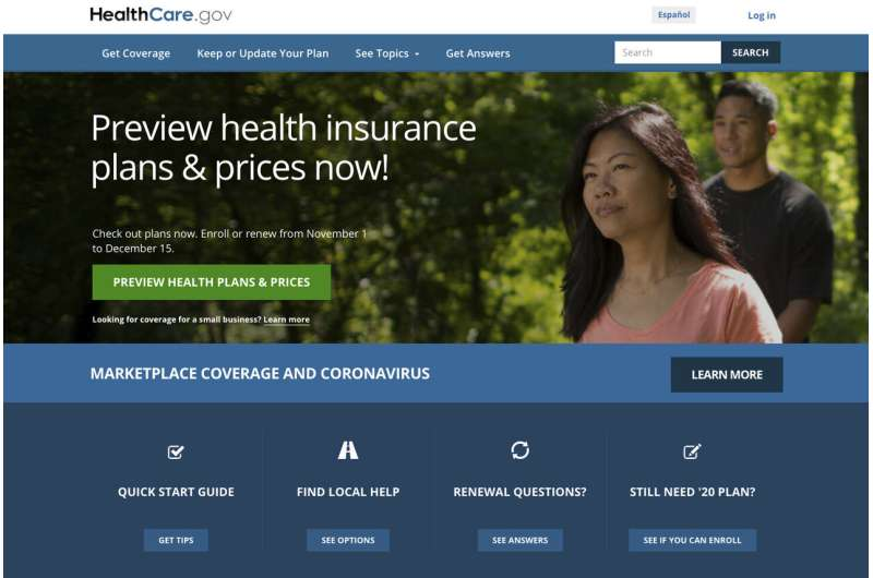 'Obamacare' enrollment rising as COVID-19 pandemic deepens