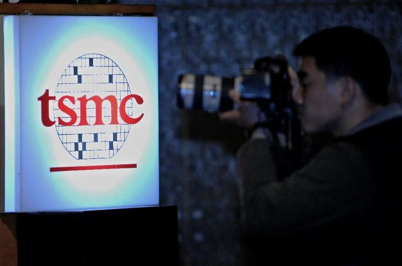 Observers said TSMC rallied following news that US giant Intel had been forced to place orders with rivals owing to delays with