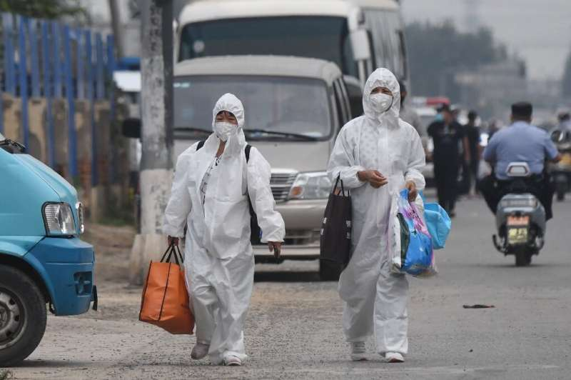 Officials said the southern Beijing district has established a 'wartime mechanism' to deal with the fresh outbreak