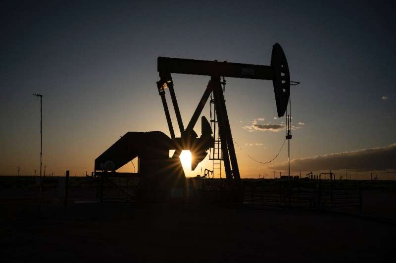 Oil and gas production posted its largest-ever decline in the Federal Reserve's April industrial production survey