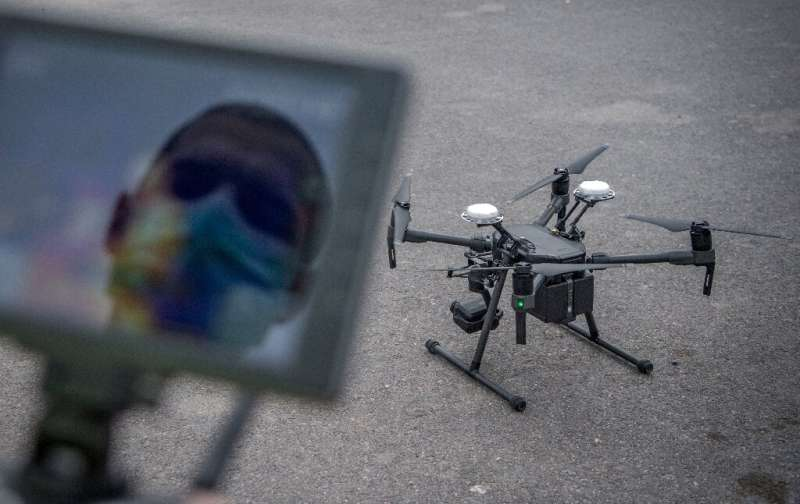 One Moroccan startup company is developing drones equipped with thermal cameras to detect people with fevers