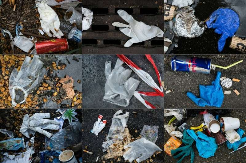 One problem with throwaway plastics is that they are thrown away carelessly, often ending up in sewage and then in rivers and th