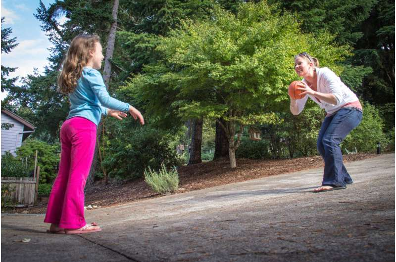 Parents' physical activity helps kids with developmental disabilities improve motor skills