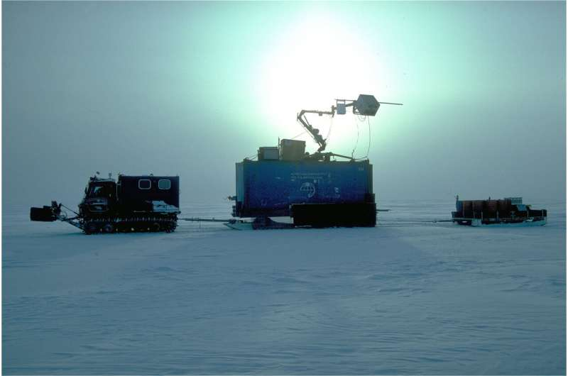 Patterns of thinning of Antarctica's biggest glacier are opposite to previously observed