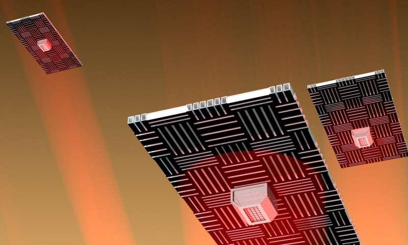Penn Engineers' 'nanocardboard' flyers could serve as martian atmospheric probes