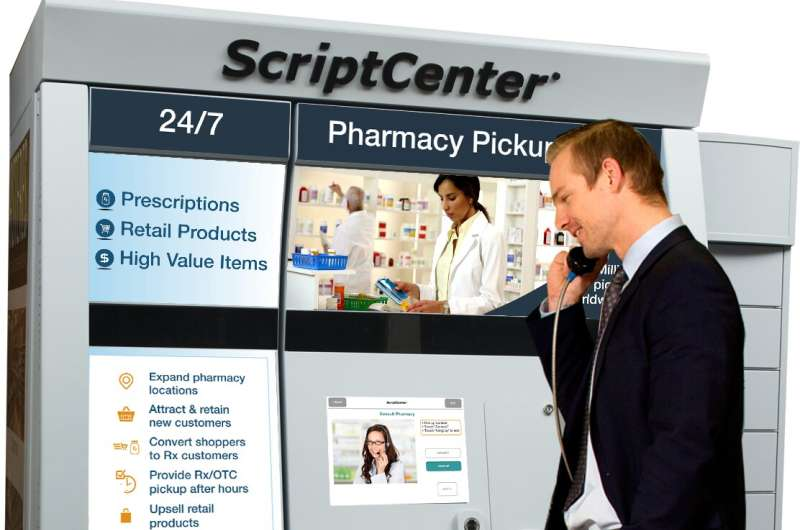 People more likely to pick up prescriptions via automated kiosks, study shows