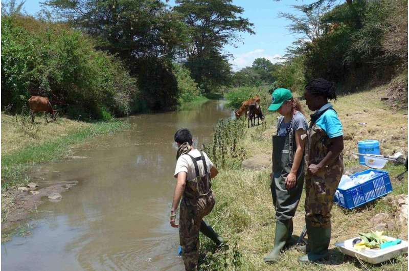 Pesticides increase the risk of schistosomiasis, a tropical disease