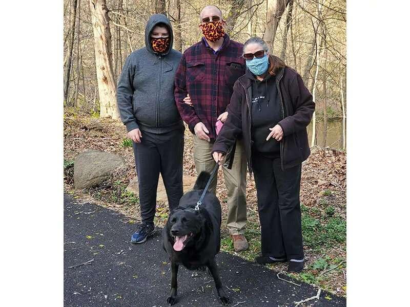 Pets provide comfort for 'Ruff' quarantine time