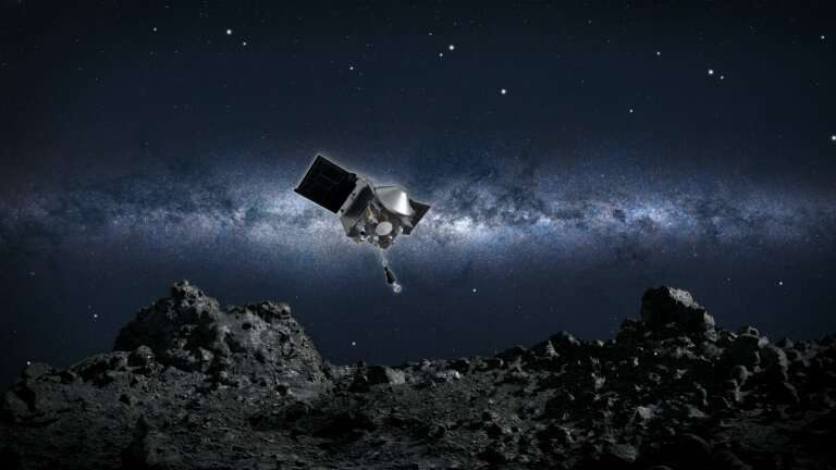 Planetary astronomer co-authors studies of asteroid as member of NASA's OSIRIS-REx mission