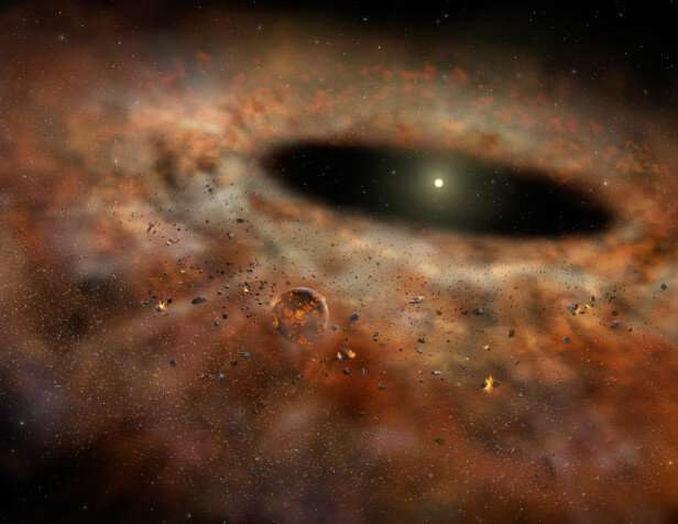 Planets must be formed early, study finds