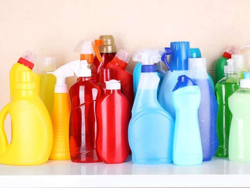 Poisonings linked to cleaning products are rising along with coronavirus fears