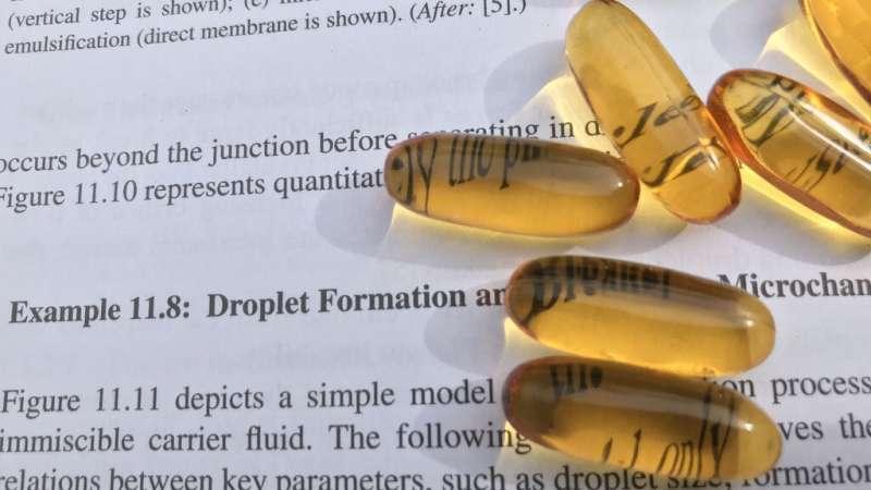 Promising new method for producing tiny liquid capsules