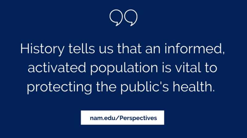 Public health leaders call for coordinated communication response to COVID-19