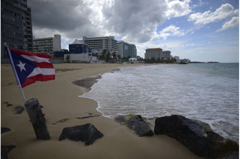 Puerto Rico to reopen beaches, gyms after 3-month lockdown