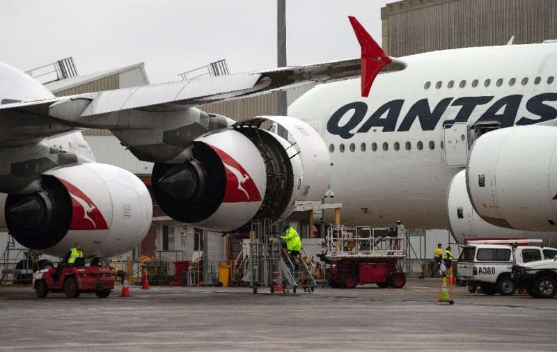 Qantas said it would ground eight of its 10 double-decker Airbus A380s currently in operation