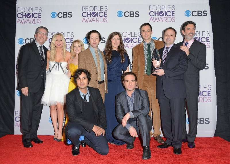 """""""The Big Bang Theory"""" (cast seen here) is one of the many shows to be on offer from streaming service HBO Max"""