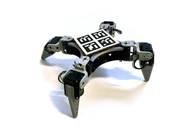 RealAnt: A low-cost quadruped robot that can learn via reinforcement learning