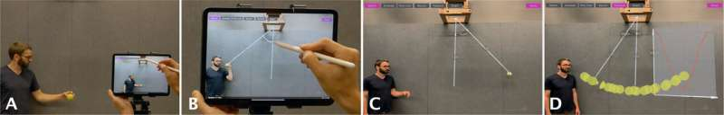 RealitySketch: An AR interface to create responsive sketches