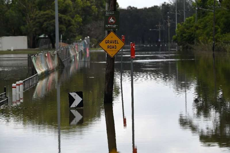 Recent downpours have brought chaos and destruction to towns and cities along the eastern seaboard