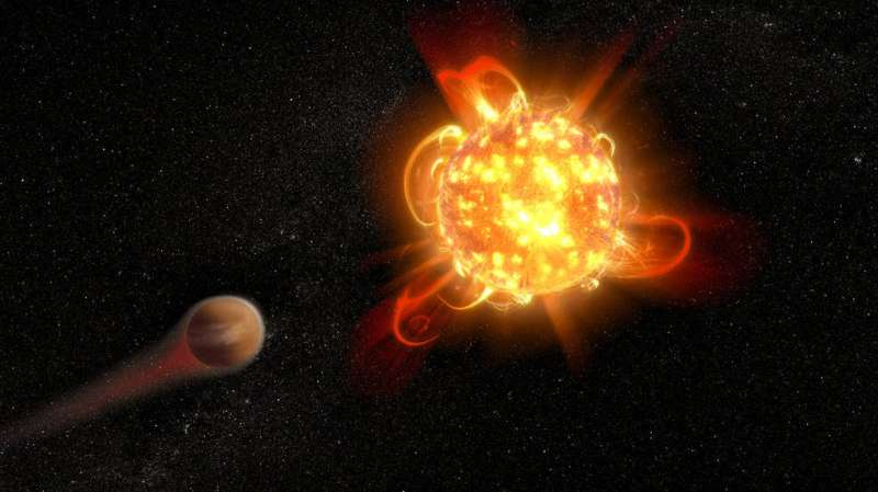 Recently discovered planets not as safe from stellar flares as first thought