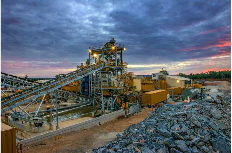 Reducing, reusing and recycling mining waste