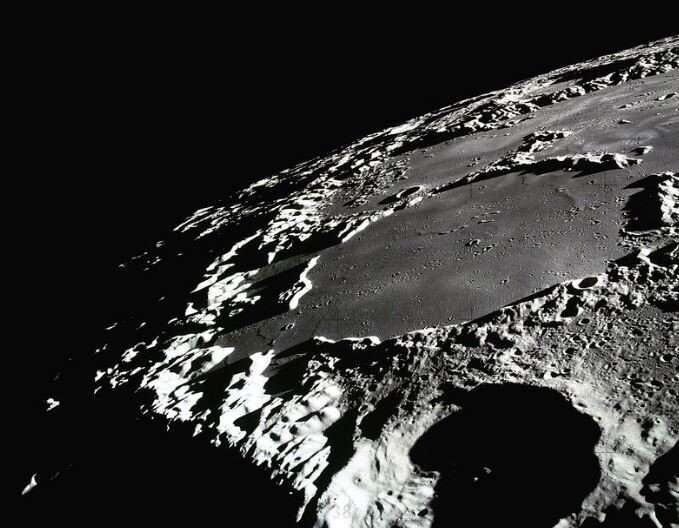 Research sheds light on the moon's dark craters