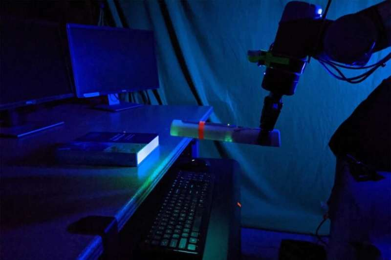 Robotic arms extend the reach of UV disinfection
