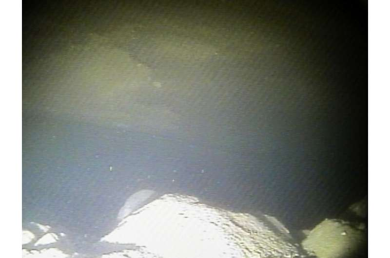 Robotic submarine snaps first-ever images at foundation of notorious Antarctic glacier