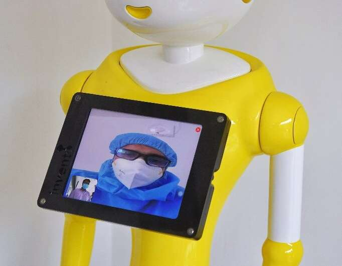 Robots are already being deployed in medical situations in the pandemic, but researchers say improved voice technologies could e
