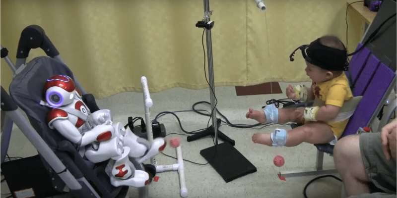 Robot toys could help detect early signs of autism or ADHD in infants