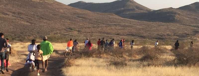 Running in Tarahumara culture