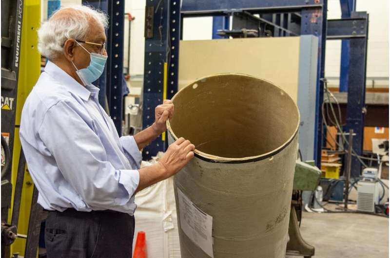 Safer future for rail transportation of hazardous materials being developed by WVU engineers