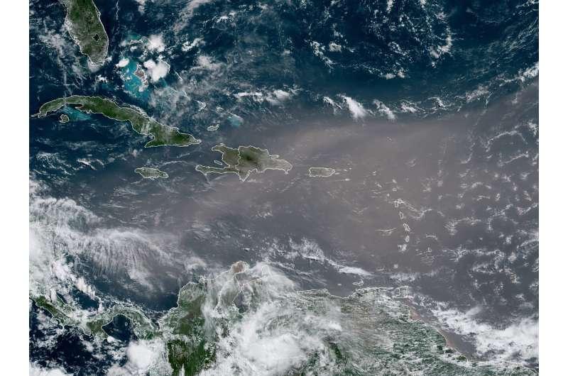 Sahara dust blankets Caribbean, air quality hazardous