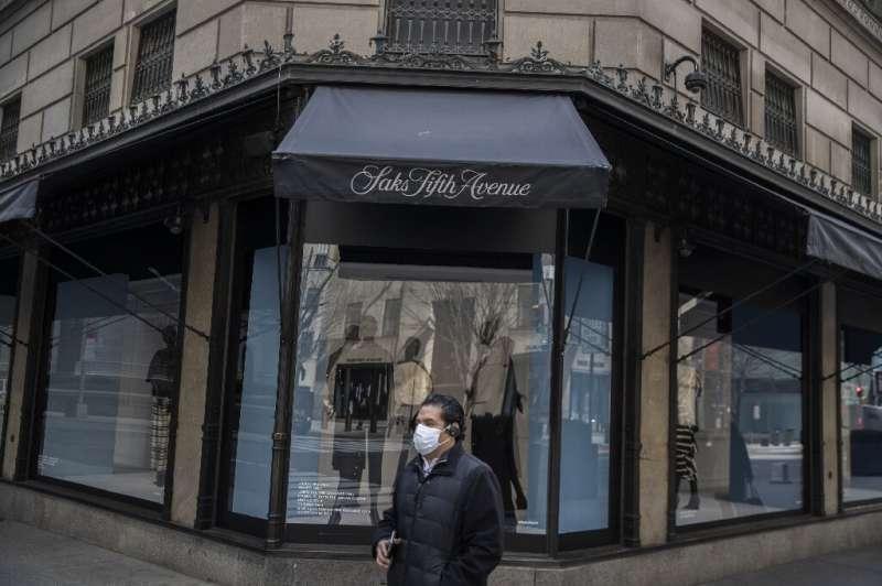 Saks's iconic New York store, shut