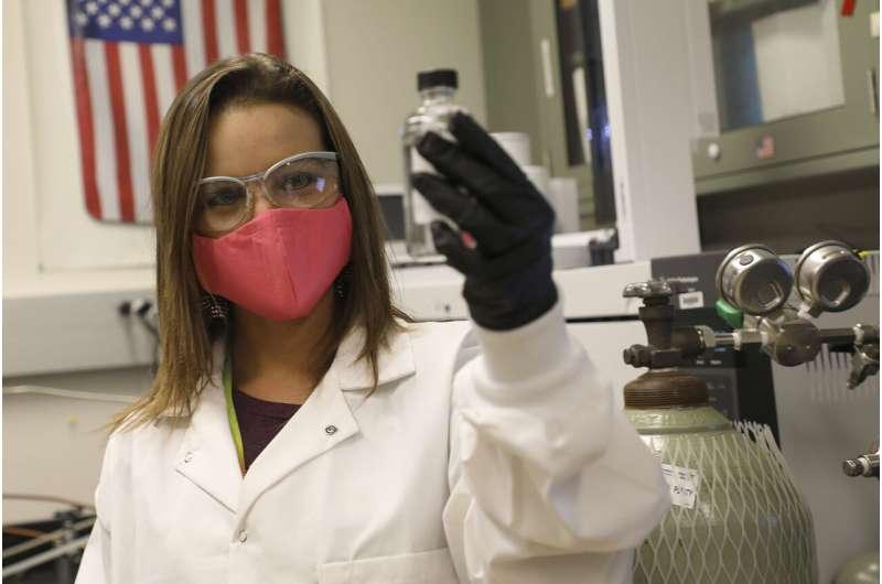 Sandia tests distillery's hand sanitizer developed to address severe shortage