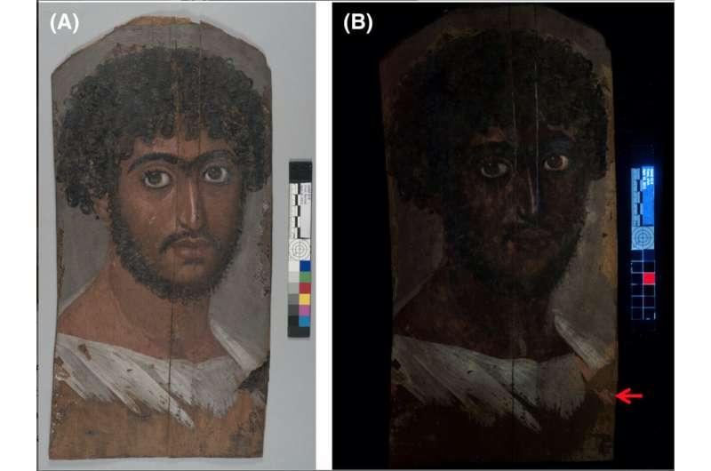 Science reveals secrets of a mummy's portrait