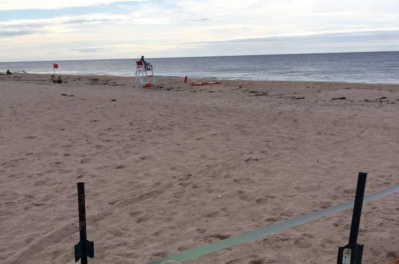 Scientists assess saltwater intrusion into well water along the Rhode Island coastline