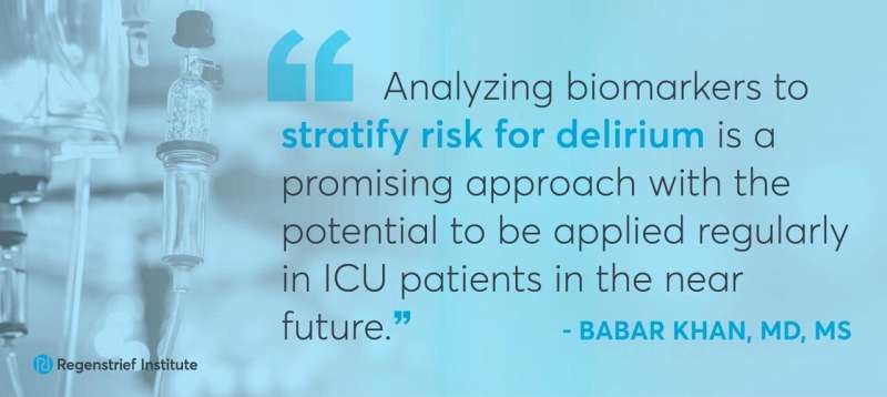 Scientists isolate biomarkers that can identify delirium risk and severity