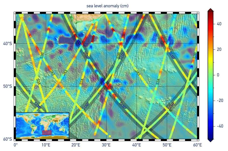 Sea-level monitoring satellite first results surpass expectations