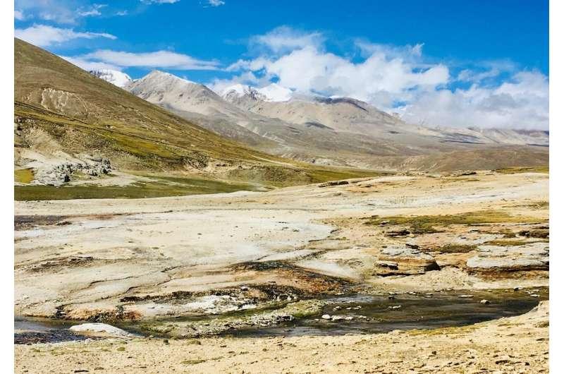 Seismic data explains continental collision beneath Tibet